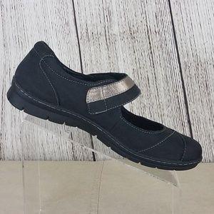 Boc Born Black Leather Mary Jane SlipOn Loafers 11